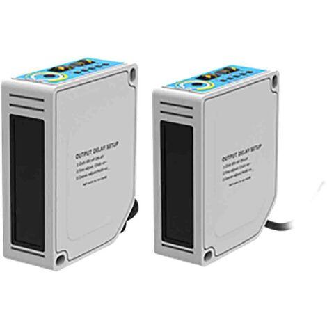 Capteur photoélectrique Suppression de l'arrière plan RS PRO, 0 → 2 m, Bloc, IP67