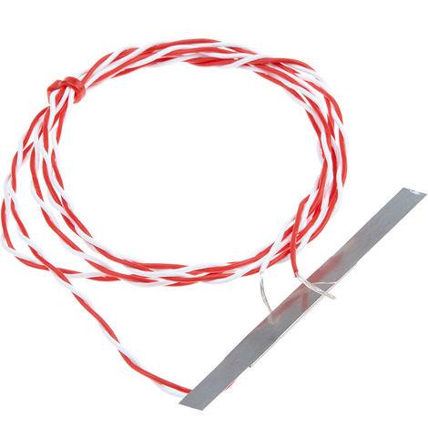 Capteur PT100, Long. 35mm, Diam 6mm, -50°C, +250°C max, Classe B