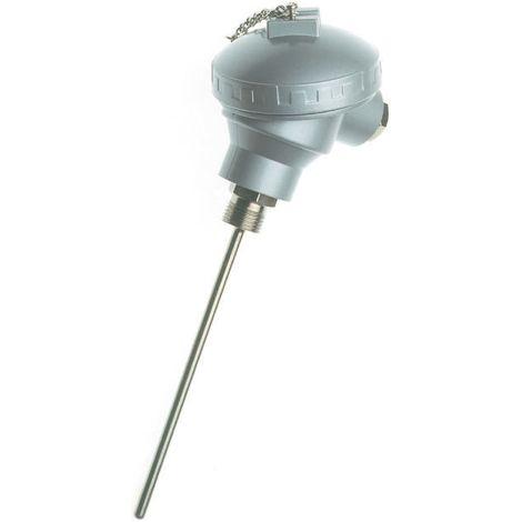 Capteur PT100, Long. 500mm, Diam 6mm, -100°C, +450°C max, Classe B