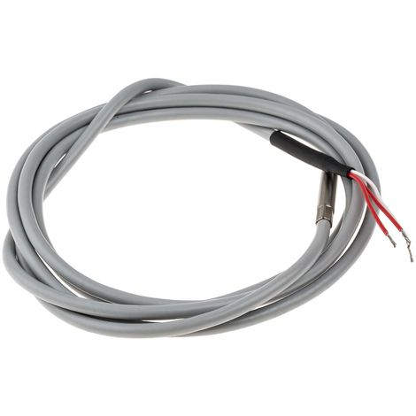 Capteur PT100, Long. 50mm, Diam 5mm, -20°C, +100°C max, Classe A