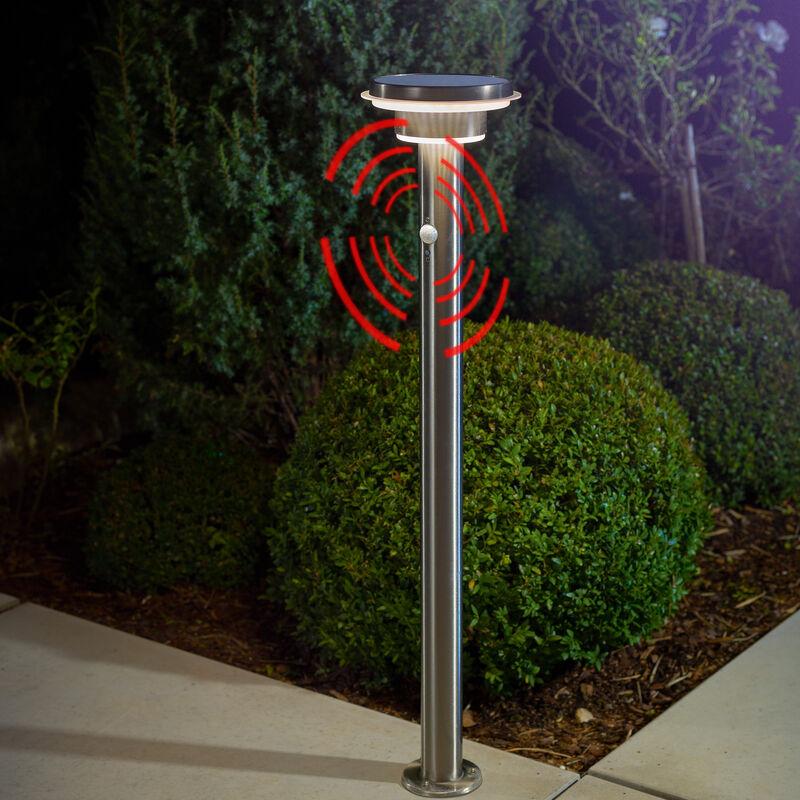 Capteur Solaire Path Light 600 lm Lampadaire Jardin Lumière Solaire esotec 102597