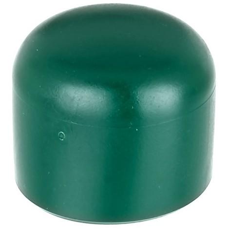 Capuchons de poteau Alberts plastique vert 48 mm