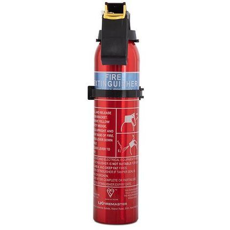 Car, Caravan and Small Property Fire Extinguishers - Fireblitz 0.6kg