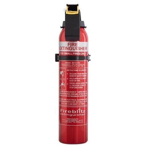 Car, Caravan and Small Property Fire Extinguishers - Fireblitz 0.95kg