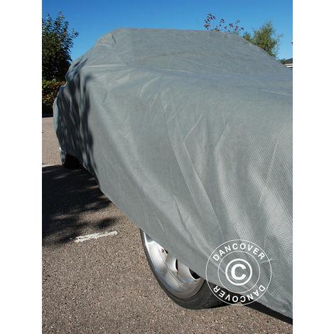 Car Cover Premium Plus, 4.7x1.66x1.27 m, Grey