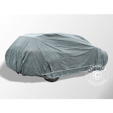 Car Cover Premium Plus, 4.92x1.88x1.52 m, Grey