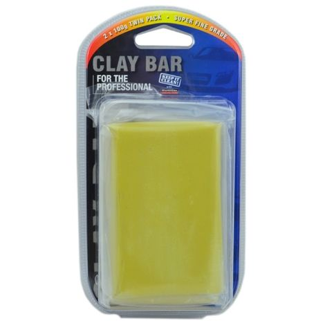Car Detailing Fine Grade Clay Bar Polishing Glass Finish 2 x 100 g