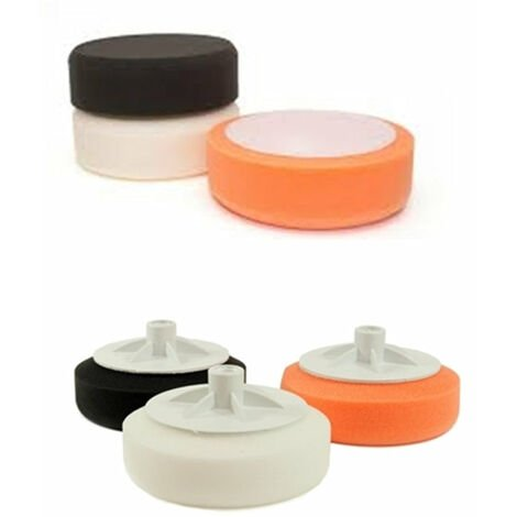Car Detailing Foam Polishing Pads - Velcro And Screw On Available