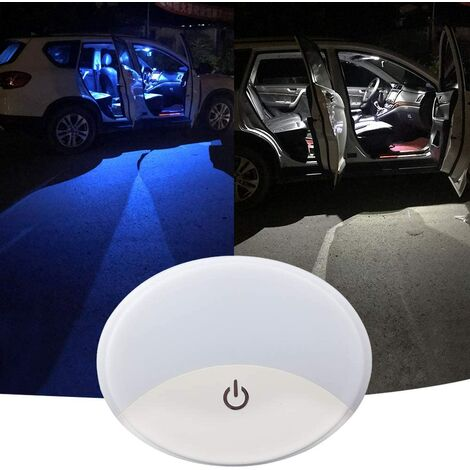 """main image of """"Car Interior Dome Lights LED Bi-color Mounting the Universal USB Car Dome Car Lights Reading Lights Night Light Auto Ceiling Car Roof Ceiling Light"""""""
