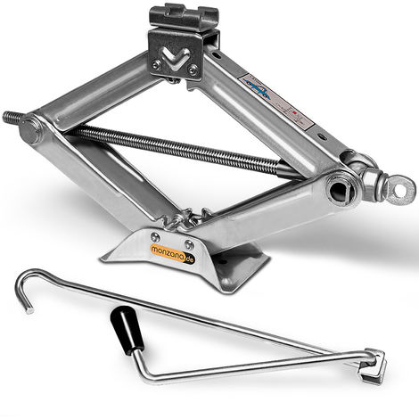 Car Jack Scissor 1500kg Load Capacity Tyre Change Tool