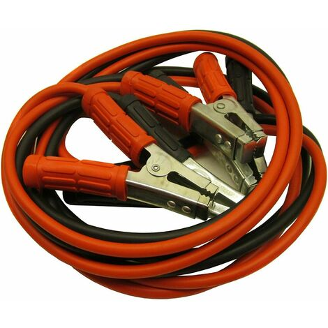 """main image of """"Car Jump Leads Booster Cable 3M Cable Heavy Duty 600amp tool"""""""