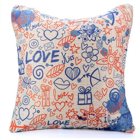 Car Pillowcase Cushion Cover For Sofa Decor