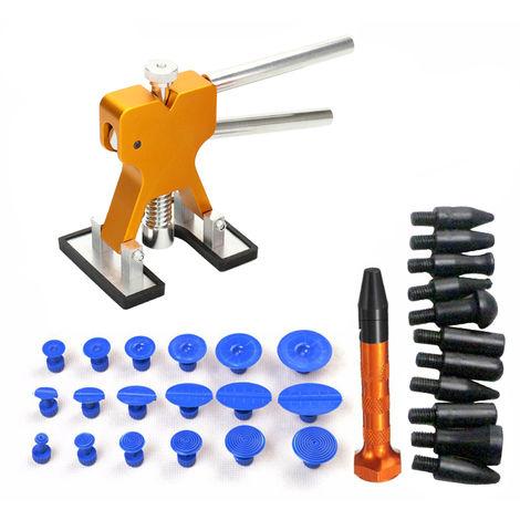 Car repair tools without glue gun