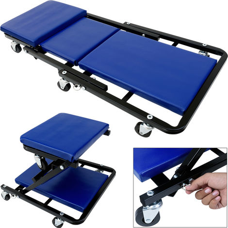 Car Roll Board with 6 Rotatable Casters Converts To Stool