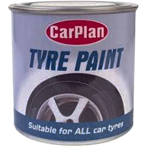 Car Tyre Paint 250ML New Vehicle Wheel Look Restore Black Rubber Surfaces