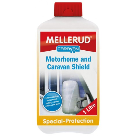Caravan Protection Shield - protect Caravan Motorhome against Dirt Grime Stain Soil Muck