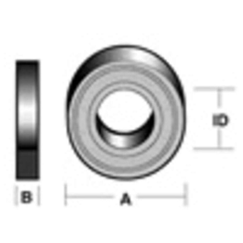 Image of Bearing O/D 22Mm Id 8Mm - Carbitool