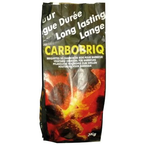 CARBOBOIS - Charbon de bois - briquette - 3kg