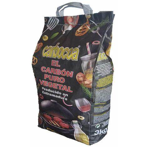"main image of ""Carbon Barbacoa 3 Kg Vegetal Carbocoa 204 3 Kg"""