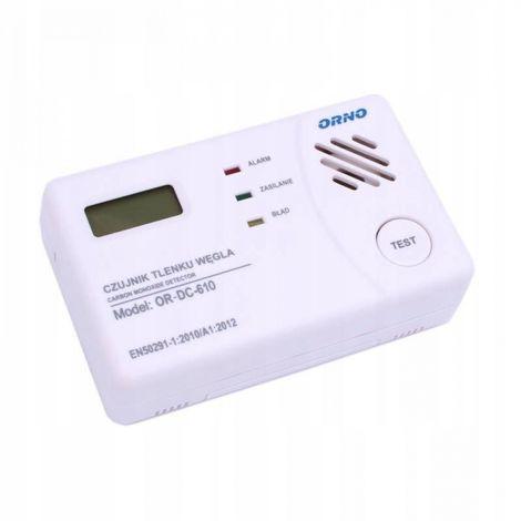 Carbon monoxide battery carbon monoxide detector