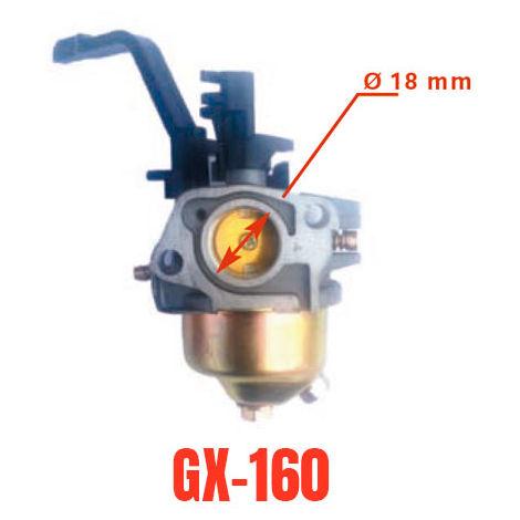 Carburador adaptable a motor generador Honda GX160