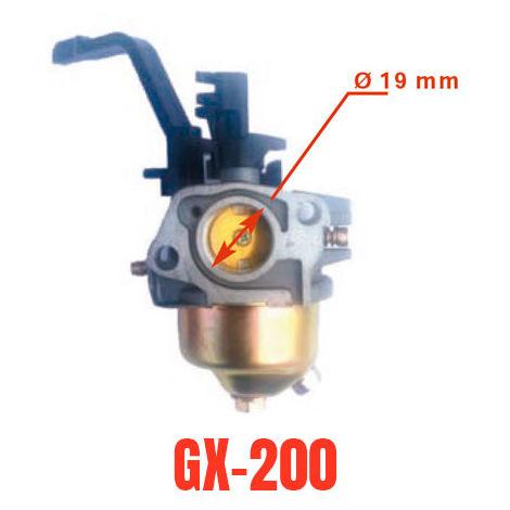 Carburador adaptable a motor generador Honda GX200