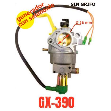Carburador adaptable a motor generador Honda GX390