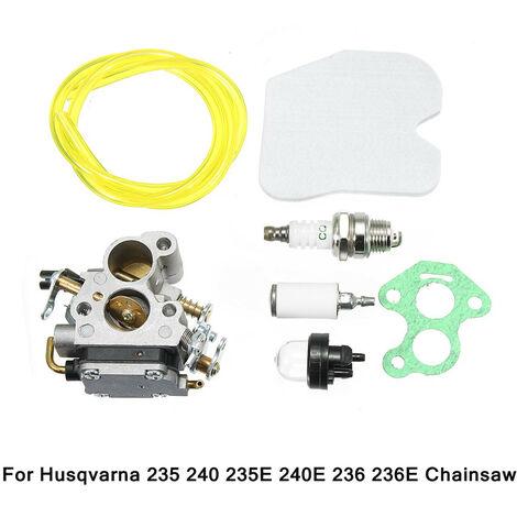 Carburador Carb Kit 574719402 para motosierra Husqvarna 235 235E 236240 240E 545072601