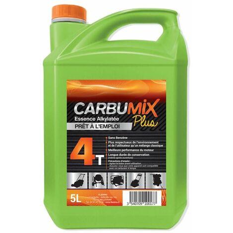 CARBURANT CARBUMIX+ 4TEMPS 3% 5L ALKYLAT - 1635 - -