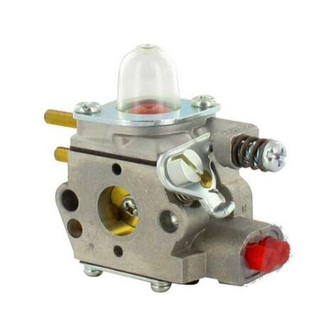 Carburateur pour débroussailleuse Echo GT-2400 (après 110790), HCA-2400 (après 005910), HCA-2410, HCA-2500, PAS-2400, PPT-2400, SHC-2400, SRM-2400, SRS-2400. Remplace Origine 123000-52133, WT-424C, 12300052133, WT424C