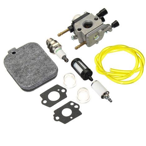 Carburetor Carbohydrate Kit Air Filter For Stihl Bg45 Bg46 Bg55 Bg65 Bg85 Sh55 42291200606 Zama C1Q-S68G