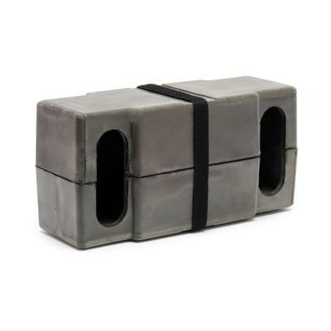 Carcasa aislante para intercambiador térmico 32 placas Termocambiador B3-16-32 Caldera Calentador