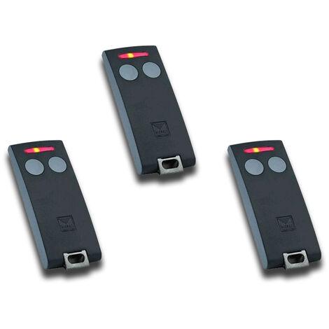 cardin 3 x télécommande 2 canaux 433 mhz s504 txq504c2