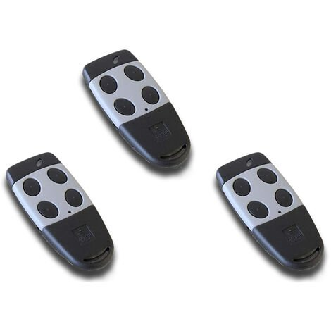 cardin 3 x télécommande 4 canaux 433 mhz s449 txq449400