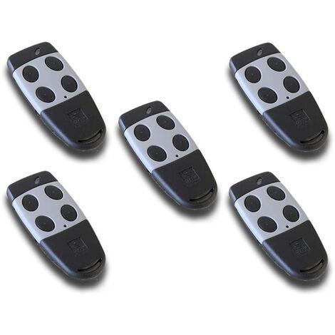 cardin 5 x télécommande 4 canaux 433 mhz s449 txq449400