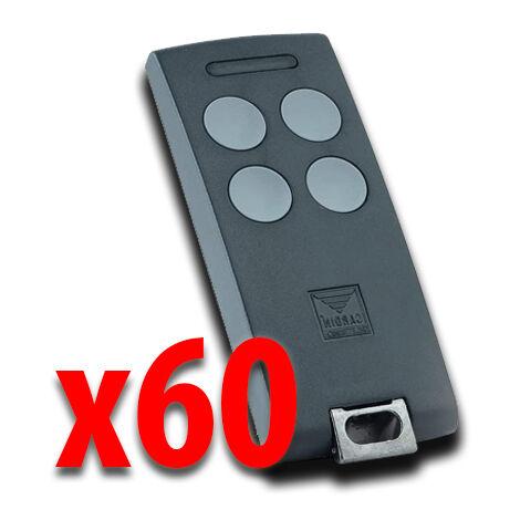 cardin 60 x télécommande 4 canaux 433 mhz s504 txq504c4