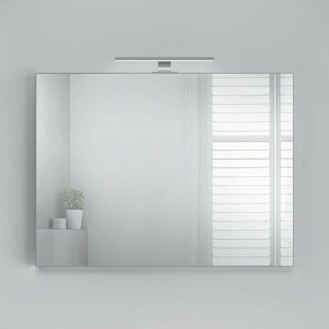 CAREA - Miroir avec applique LED H800 x L700
