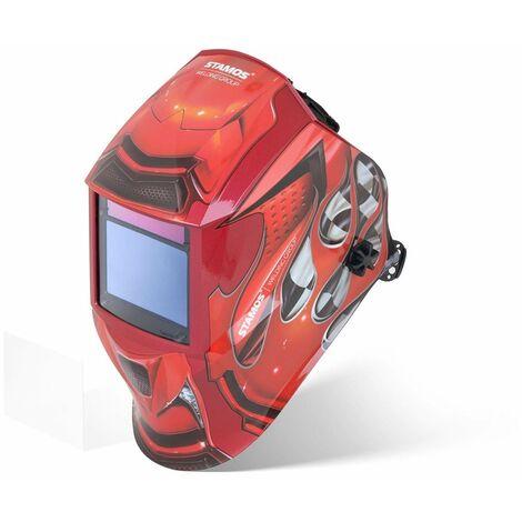 Careta De Soldar Casco Automático Máscara Soldadura 1/30000S Protección DIN 9-13