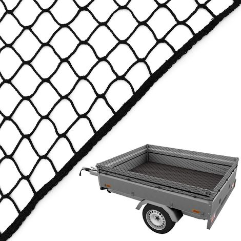 Anhänger-Netz 2,5x4,0m Containernetz Transport Ladungssicherung Sicherungs-Netz