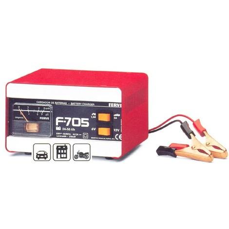 Cargador Bateria 10-50 Ah - FERVE - F705 - 6-12 V