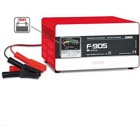 Cargador Bateria 32-60 Ah - FERVE - F905 - 12 V