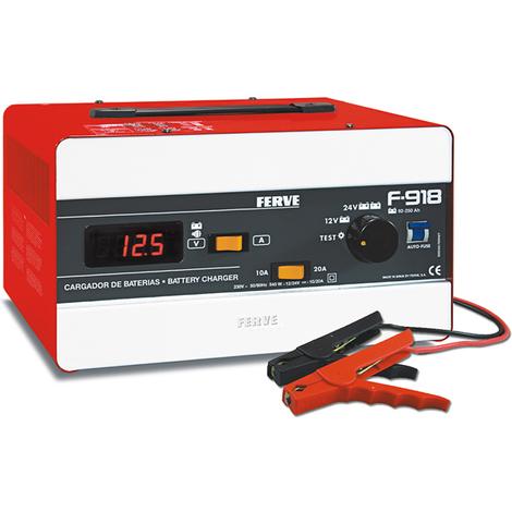 Cargador Bateria Comp 92-250ah - FERVE - F918 - 12-24 V