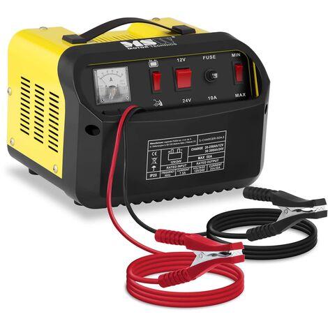 Cargador de batería para coches - arranque instantáneo - 12/24 V - 20/30 A