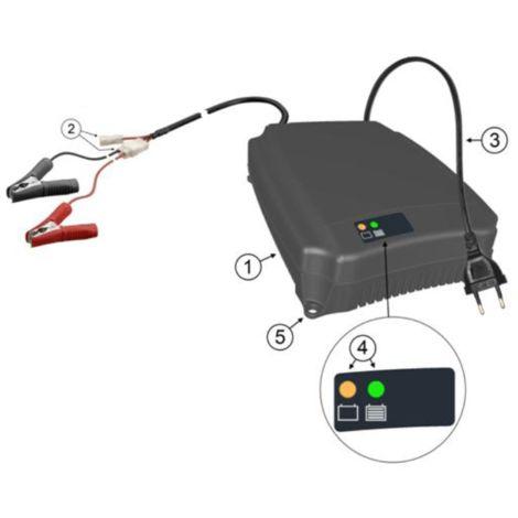Cargador de batería pbq 12v 20a