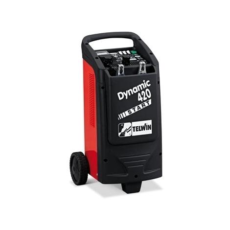 Cargador de baterías y arrancador TELWIN Dynamic 420 Start