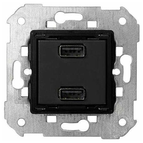 Cargador doble USB 2.1 A Simon 7511096-039