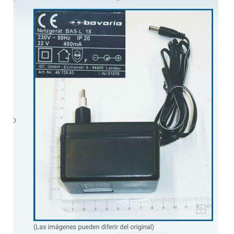 Cargador Einhell batería 18 V. para taladro inalámbrico