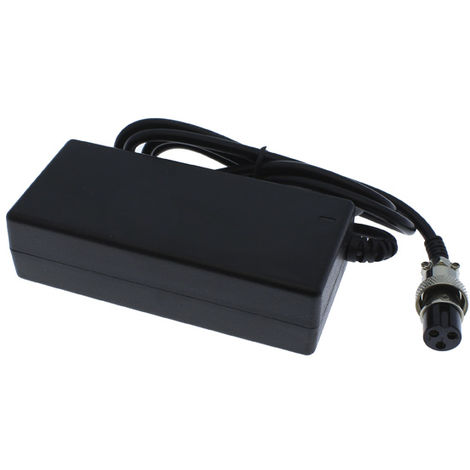 Cargador para batería de tijeras de podar eléctricas Yatek EL46002 y EL46003. Salida de 42V - 1A