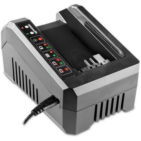 Cargador para baterias de litio herramientas jardin sistema GREENCUT 56V MAX