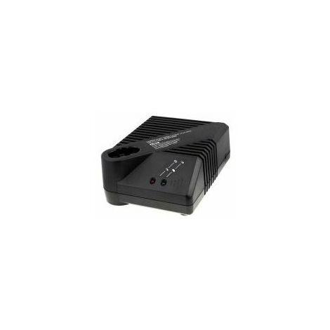 Cargador para Bosch Taladro GBM 12VES incl. Adaptador para Nódulo (Knolle)/Recta (Stab)
